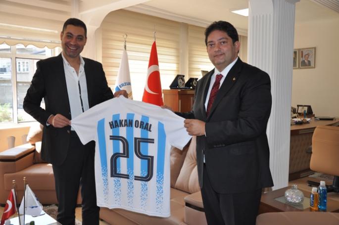 Oral'dan, UYAFA CUP 2022 Erzurum'a tam destek
