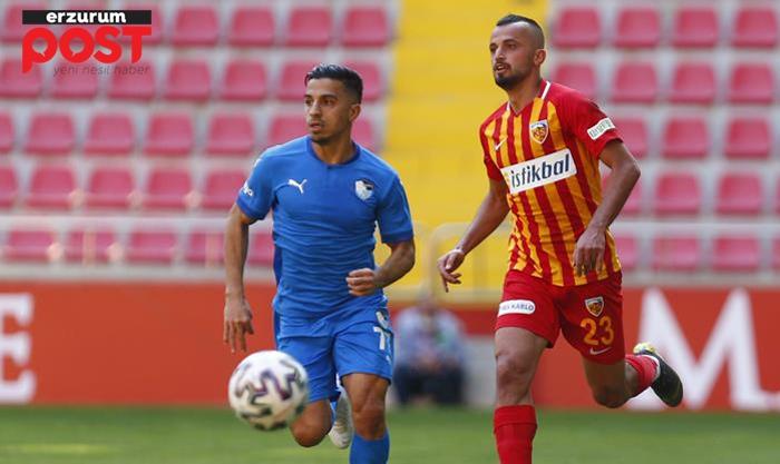 Dadaş, Kayseri'den 3 puanı 3 golle aldı: 1-3