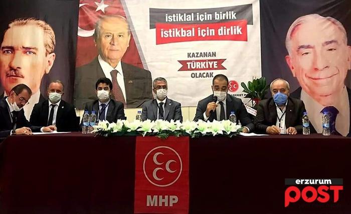 MHP Erzurum İl Kongresi yapıldı